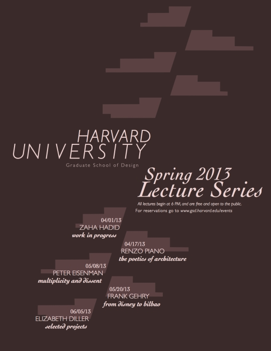 harvard lecture